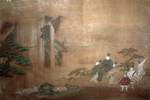 「伊勢物語 布引の滝図」